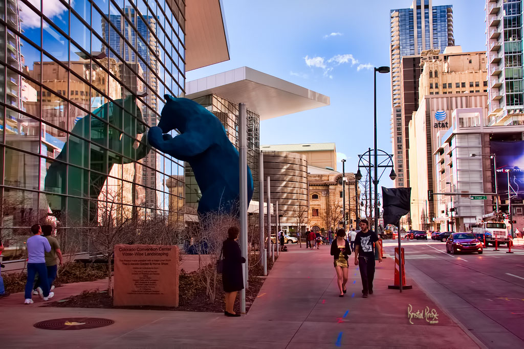 Blue Bear at the Colorado Convention Center