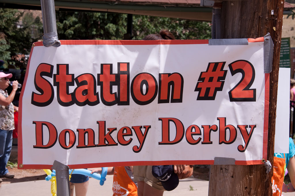 Donkey Derby Station #2