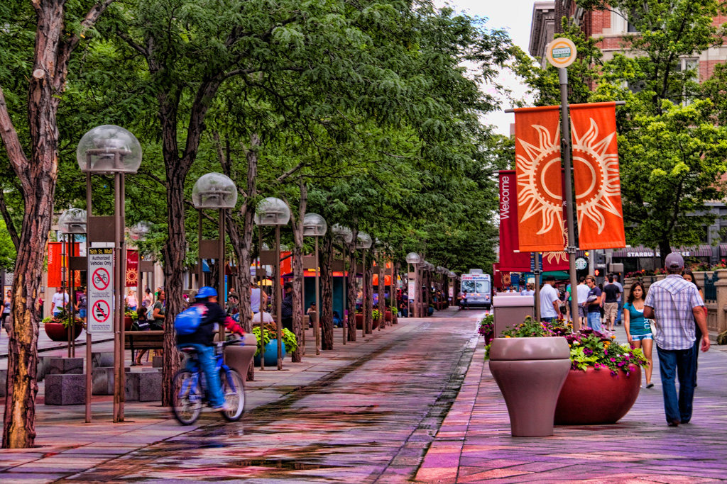 The 16th Street Mall is the mile long pedestrian mall that is the heart and soul of downtown Denver. During our Denver vacation we spent hours in the heart and soul of downtown Denver.3/5().
