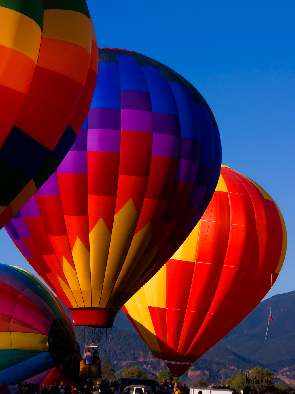 Morning Colors at Colorado Springs Balloon Classic