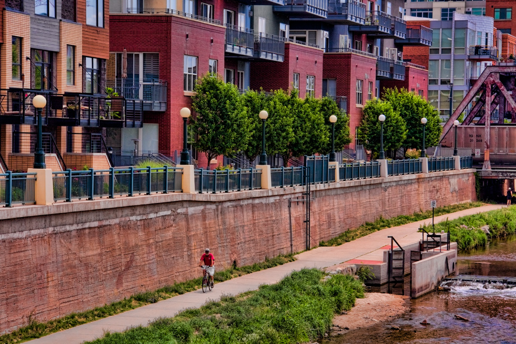 Cycling the Cherry Creek Trail