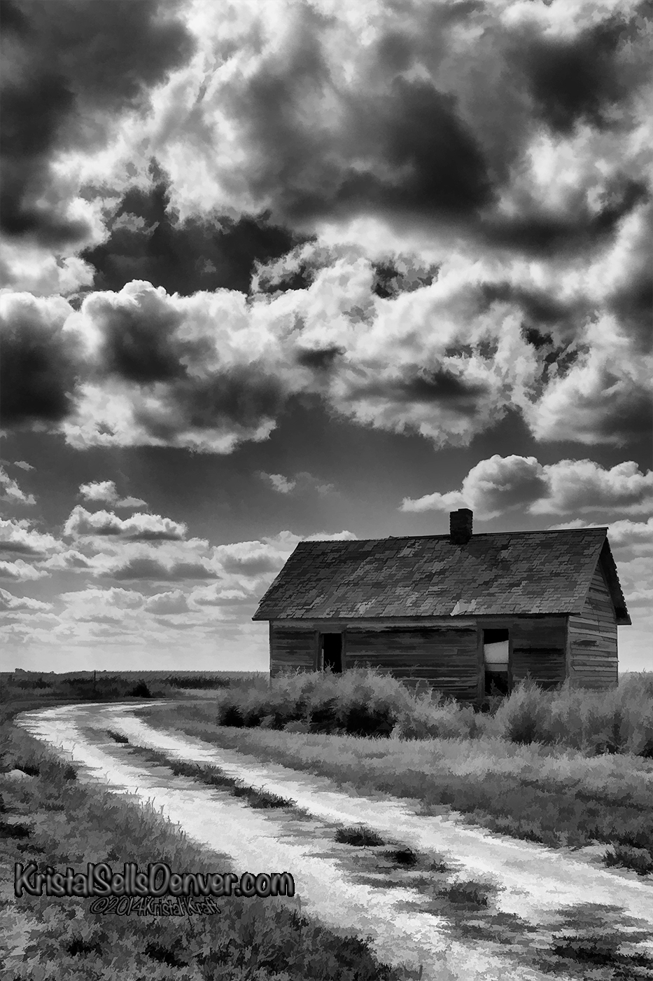 Abandoned cabin on the Eastern Plains of Colorado