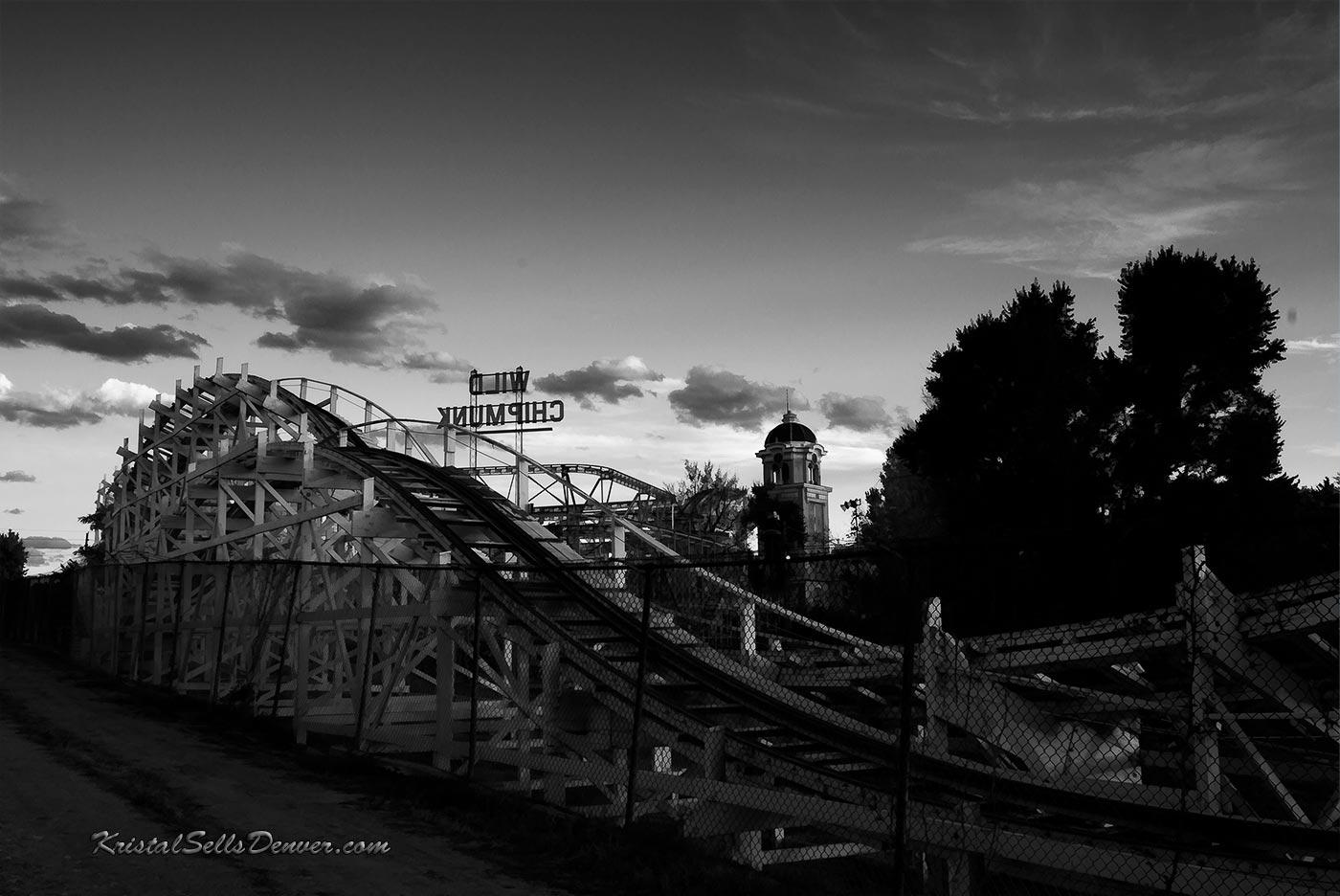 Wild Chipmunk roller coaster