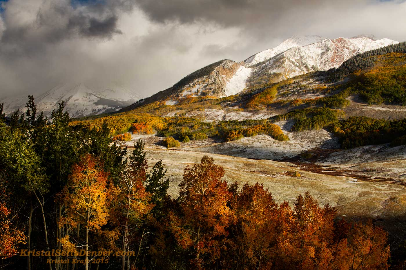 Fall arrives in the high country