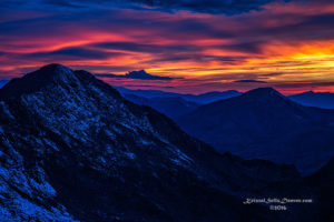 sunset, mt evans, colorful, dusk, high altitude, mountains