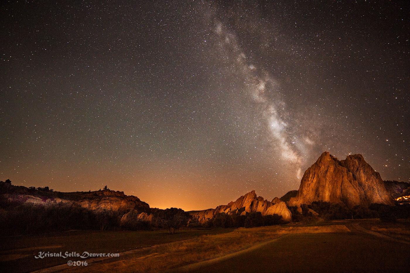 Milky Way Over Arrowhead