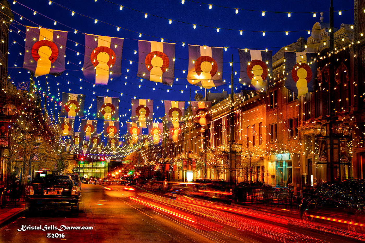 Larimer Lights, Denver, Colorado